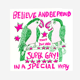 Believe & Be Proud Grußkarte>     </noscript> </div>          <div class=