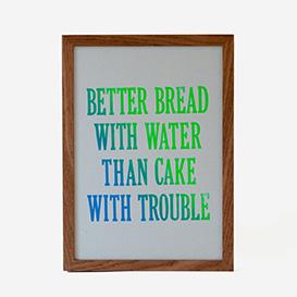 Better Bread With Water... iris>     </noscript> </div>          <div class=