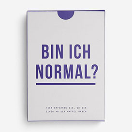 Bin ich normal? Spielkarten-Set>     </noscript> </div>          <div class=