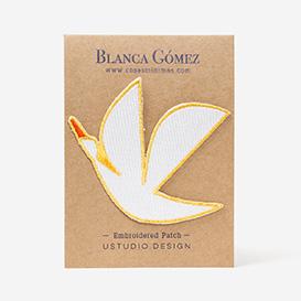 Blanca Gomez Flying Iron-On Patch>     </noscript> </div>          <div class=