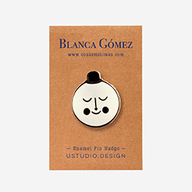 Blanca Gomez Moon Pin>     </noscript> </div>          <div class=