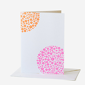 Flower Pink Orange Greeting Card>     </noscript> </div>          <div class=