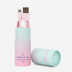 Bubblegum Pink Charge & Sync Cable>     </noscript> </div>          <div class=