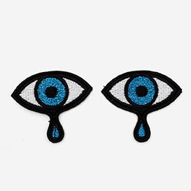 Bügel-Aufnäher Augen>     </noscript> </div>          <div class=