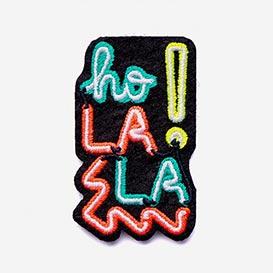 Bügel-Aufnäher Ho La La Neon>     </noscript> </div>          <div class=