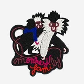 Bügel-Aufnäher Monkey Family>     </noscript> </div>          <div class=