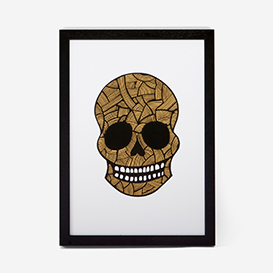 Calavera Gold Green Rust #3 Screenprint>     </noscript> </div>          <div class=