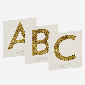 Chunky Gold Glitter Alphabet Sticker>     </noscript> </div>          <div class=