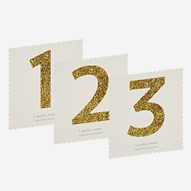 Chunky Gold Glitter Number Sticker>     </noscript> </div>          <div class=