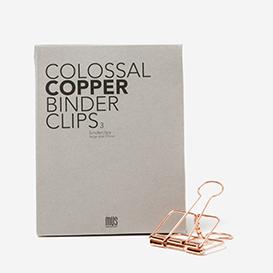 Colossal Binder Clips 51 mm - copper>     </noscript> </div>          <div class=