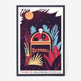 Decemberists Screenprint Gigposter>     </noscript> </div>          <div class=