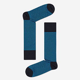 Dressed Herringbone Sock - Black>     </noscript> </div>          <div class=