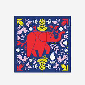 Elephant Screenprint>     </noscript> </div>          <div class=
