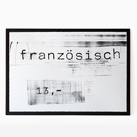 Erich Wellhöfer - Französisch Screenprint>     </noscript> </div>          <div class=