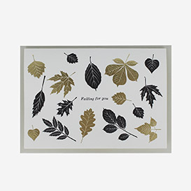 Falling for You Letterpress Greeting Card>     </noscript> </div>          <div class=