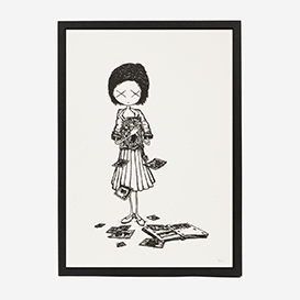Girl Pictures Screenprint Poster>     </noscript> </div>          <div class=