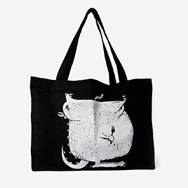 Hungry Monster Black Large Tote Bag>     </noscript> </div>          <div class=