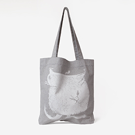 Hungry Monster Grey Small Tote Bag>     </noscript> </div>          <div class=
