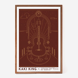 Kaki King Siebdruckposter>     </noscript> </div>          <div class=