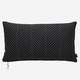 Cushion Fluffy Heringbone Black>     </noscript> </div>          <div class=