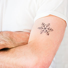Temporary Tattoo Snow Flake>     </noscript> </div>          <div class=