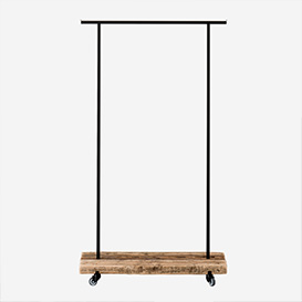 Clothes Rack Reclaimed Wood - S>     </noscript> </div>          <div class=