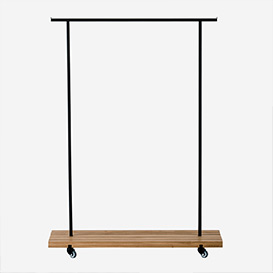 Clothes Rack Oak - M>     </noscript> </div>          <div class=