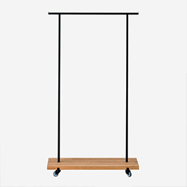 Clothes Rack Oak - S>     </noscript> </div>          <div class=
