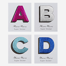 Leather Alphabet Sticker>     </noscript> </div>          <div class=