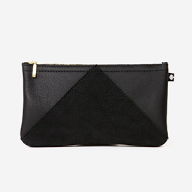 Leather Purse Manoo - Black>     </noscript> </div>          <div class=