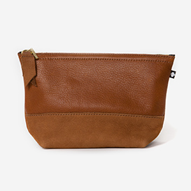Leather Beauty Case Manoo - Cognac>     </noscript> </div>          <div class=