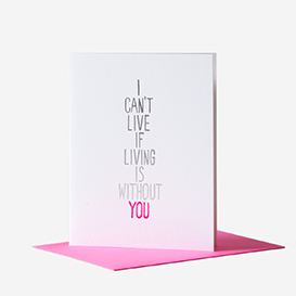 Living Without You Greeting Card>     </noscript> </div>          <div class=