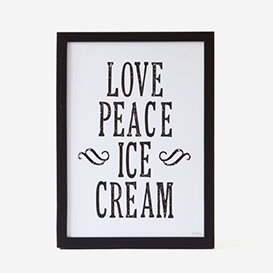Love Peace Icecream B/W>     </noscript> </div>          <div class=