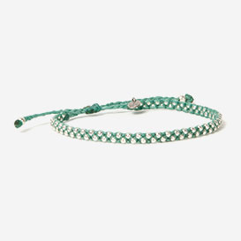Luna Micro Bracelet Ocean Green 925 Sterling Silver>     </noscript> </div>          <div class=