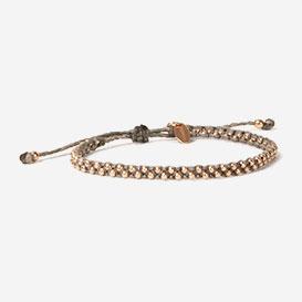 Luna Micro Bracelet Taupe Roségold>     </noscript> </div>          <div class=