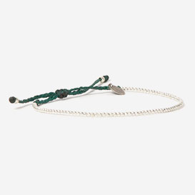 Luna Micro Pure  Bracelet Bottle Green 925 Sterling Silver>     </noscript> </div>          <div class=