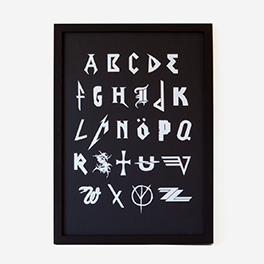 Metal-ABC Screenprint Poster>     </noscript> </div>          <div class=