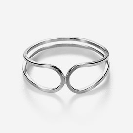 Mirror Image Ring Sterling Silver>     </noscript> </div>          <div class=