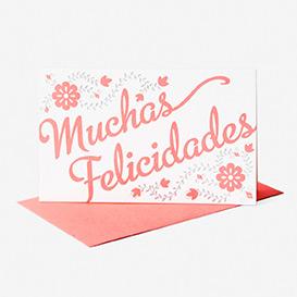 Muchas Felicadades Greeting Card>     </noscript> </div>          <div class=