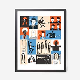 Musicians Screenprint >     </noscript> </div>          <div class=