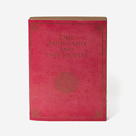 One Thousand and One Nights Notizbuch - Gold>     </noscript> </div>          <div class=