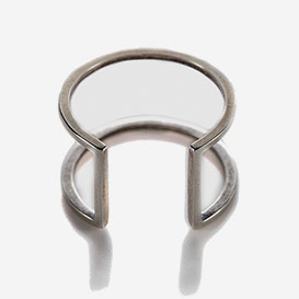 Open Square Ring Sterling Silver>     </noscript> </div>          <div class=