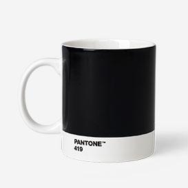 Pantone® Black 419 Porzellan-Tasse>     </noscript> </div>          <div class=