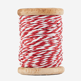Twisted Paper Cord Red White>     </noscript> </div>          <div class=