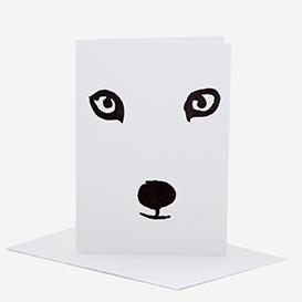 Polar Fox Greeting Card>     </noscript> </div>          <div class=