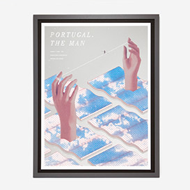 Portugal. The Man Siebdruck Gigposter>     </noscript> </div>          <div class=