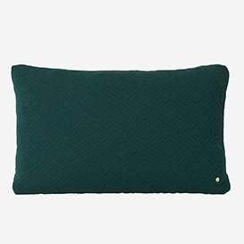 Quilt Cushion XL - Dark Green>     </noscript> </div>          <div class=