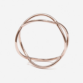 Ring Timestwo Rose Gold 375>     </noscript> </div>          <div class=
