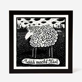 Sheep Screenprint>     </noscript> </div>          <div class=