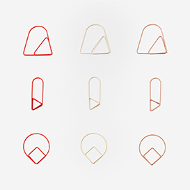 Set mit 9 Paper Clips Red>     </noscript> </div>          <div class=
